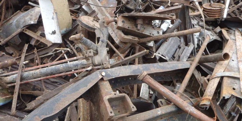 Jern og Metal affald