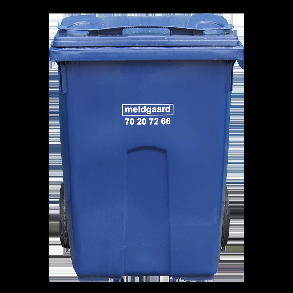 minicontainer med 2-hjul - 360 liter